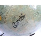Globo Terraqueo Antiguo Chapa Garrido (01270)