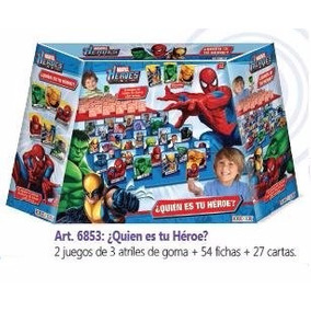 Quien Es Quien Tu Heroe Marvel Spiderman Hulk Wolverine Jueg
