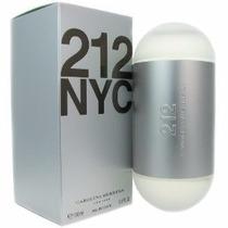 Perfume 212 Nyc Carolina Herrera Feminino 100ml Edt Original