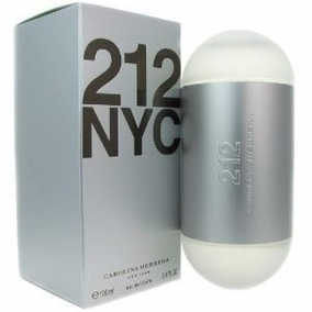 Perfume 212 Nyc Carolina Herrera Feminino 100ml Edt Original