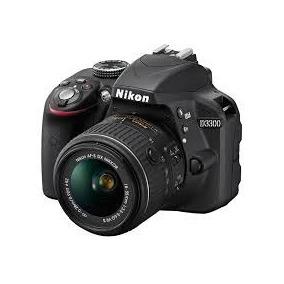 Câmera Nikon D3300 Kit 18-55mm Nova Zerada Na Caixa