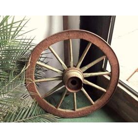 Roda De Carroça 70cm. Frete Grátis