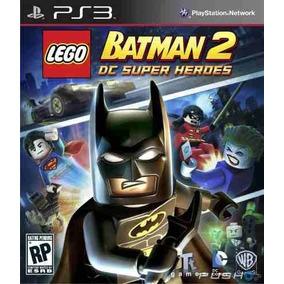 Lego Batman 2 Ps3 Psn Dc Super Heroes Pt Br Envio Na Hora!