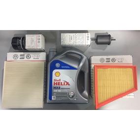 Kit Filtros + Aceite Helix Hx8 4lt Volkswagen Goltrend Suran