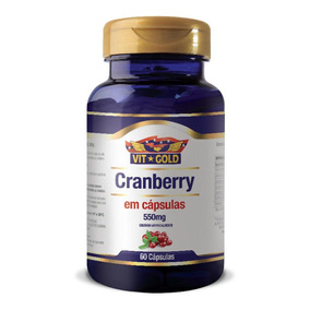 Cranberry Vitgold Com 60 Cápsulas