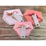 50 Envelopes Para Chá De Fraldas Ou Bebê (modelo Fraldinha)