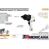 Pistola Neumatica De Impacto 1/2 Industrial Truper