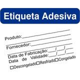 Etiqueta Identificação De Alimentos Vigilância Sanitária