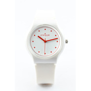 Reloj De Silicona Pineapple Honey Con Rojo (rojo)