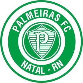 5 Adesivo Palmeiras Natal Rn Clube Ball Bola Retro Vintage