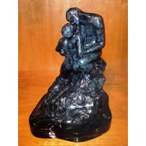 Lrc El Beso-the Kiss, Hermosa Escultura De Bronce, A. Rodín.