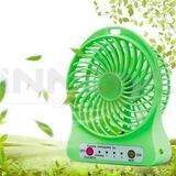 Ventilador Portatil Recargable Mini Fan Usb 3 Velocidades