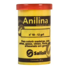 Anilina Para Madeira, Artesanato, Cabelo 25 Gramas Salisil