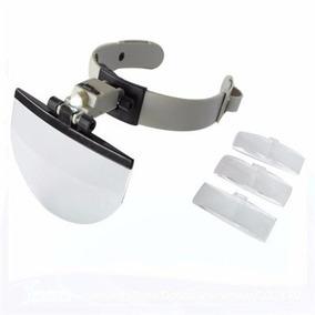Oculos Lupa E Luz Para Estetica - Instrumentos Ópticos no Mercado ... c3ddaf06ea