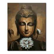 Óleo Por Números Buda Loto