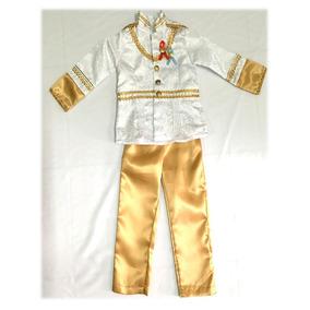 Disfraz Tipo Principe Rey Niño Carnaval