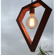 Lámpara Colgante De Techo Rubí Simple Chica
