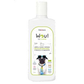 Shampoo Para Perros Wau Control Natural Contra Pulgas 250 Ml