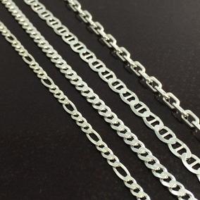 Promoção Pulseira Masculina Prata Maciça Italiana 925 20cm