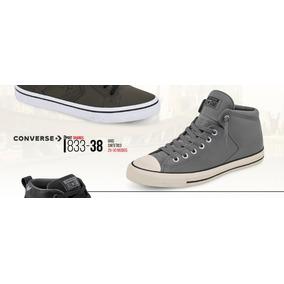 Tenis Converse P/hombre 833-38 Gris