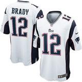 Camiseta Nfl Patriots Nike Brady 12 - Edelman 11 Originales