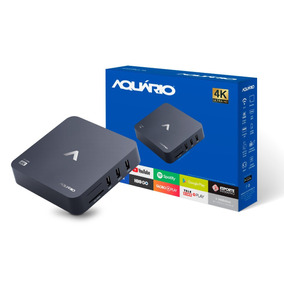 Smart Tv Box Android 7 Full Hd 4k Netflix Stv-2000 Aquário