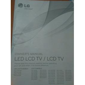 Manual De Usuario Televisores Lg