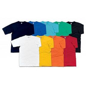 Pack 50 Camisetas Saldo De Fábrica Com Defeitos