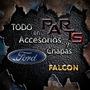Guardabarro Delantero 62/72 Der/izq. Ford Falcon Y Mas...