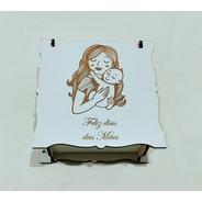 Caixa Lembrancinha Dia Das Mães Mdf Branco - 10 Unidades