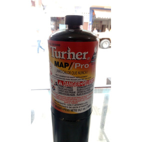 Gas Turner Clean Burn Negro Cb-1000 Gb Cartucho 400 G
