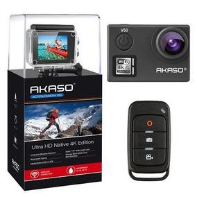 Ultra Hd 4k Video De 20mp Wifi Acción V50 30fps Cámara