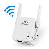 Roteador Repetidor Amplificador Wifi 2 Antenas 300 Mbps