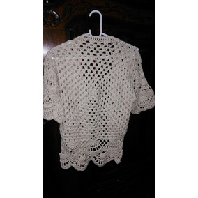 Saco De Hilo Tejido A Crochet