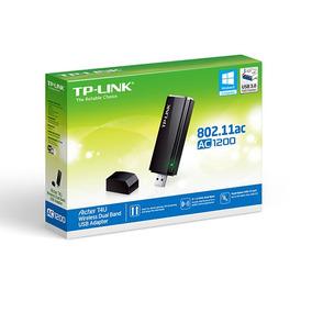 Adaptador Ac1200 Wifi Tp-link Realtek 5ghz Y 2.4ghz Usb 3.0