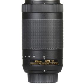 Lente Nikon 70-300mm F/4.5-6.3g Ed Af-p Dx Vr S/p Garant1ano