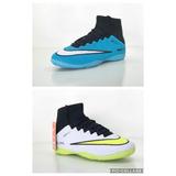 Kit 2 Chuteira Nike Futsal Botinha Superfly Cano Alto Longo