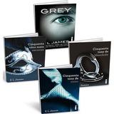 Trilogia Cinquenta Tons De Cinza + Livro Grey - Em Pdf
