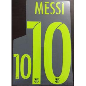 Numeros Barcelona 16-17 Tercera Equipacion Messi Suarez