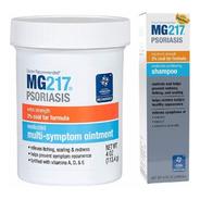 Kit Mg217 Shampoo E Pomada Para Psoriasis, Dematite E Caspa