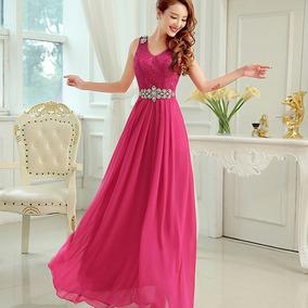 Vestidos de fiesta color fiusha