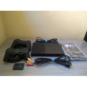 Playstation 2 Slim + 2 Controle + Memory Card 8mb