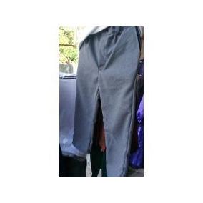 Pantalon Escolar O De Vestir Gris Oxford