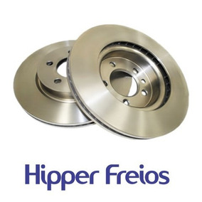 Kit Disco Freio Pastilha Ecosport 2.0 Automatica 06 07 08 09