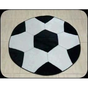 Tapete Quarto Infantil Bola Futebol - Linha Avulsa