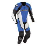 Traje Piel Protecciones Moto Joe Rocket Speedmaster 6.0 Azul