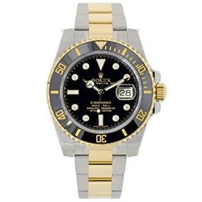 Acero Inoxidable Rolex Submariner Oro Amarillo Del Diamant