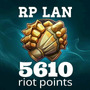 Riot Points 5610 Rp Lan League Of Leyends Lol 100% Legales