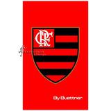 Toalha Buettner Social Veludo Flamengo - 30 X 50 Cm