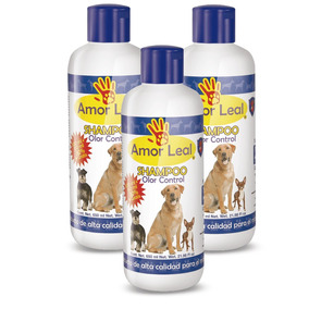 Shampoo Amor Leal Olor Control 650ml - Tri Pack 3 Piezas